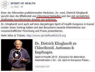 Dietrich Klinghardt – Psiram