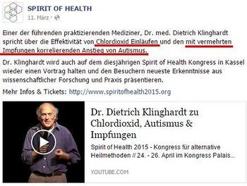 Dietrich Klinghardt — Psiram